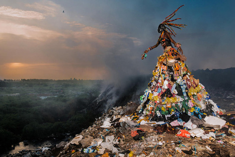 fabrice monteiro shows senegal's pollution with garbage garments | As digitally seen ... | Scoop.it