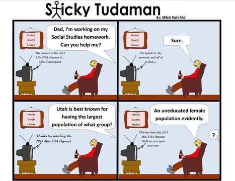 Sunday Shticky: Sticky Tudaman On Miss Utah | Political Humor | Scoop.it