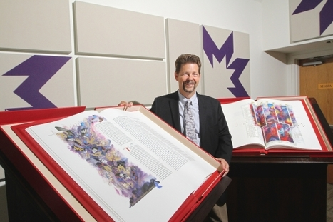 Rare edition of Saint John's Bible at St. Mary's University College - Calgary Herald | Christian News | Scoop.it