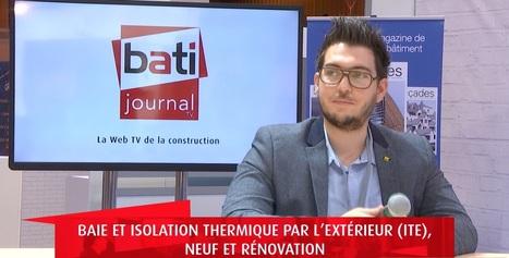 Baie et isolation thermique par l'extérieur (ITE), neuf et rénovation - Batijournal   ISORE : Experts en projets durables   Scoop.it