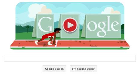 London 2012 hurdles - An interactive animated Google Doodle | RtoZ Social Media News | london olympics doodles | Scoop.it