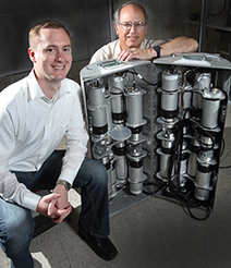 Mobile imager of fast neutrons spots radiation source at a distance and through shielding | Nuclear Physics | Scoop.it