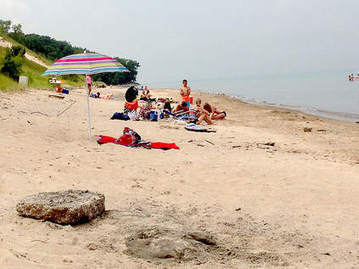 Debris from waves closes Central Avenue Beach - Post-Tribune | Hydraulics | Scoop.it