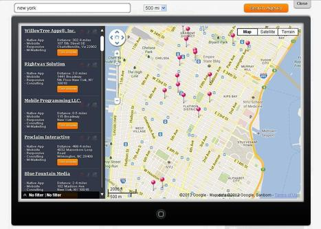 Agency locator | Mobile web agencies directory | mobiwebreviews.com | MOBIWEBREVIEWS | Scoop.it