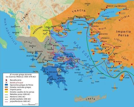 Esparta – Historia Antigua | La Historia con Mapas | Mundo Clásico | Scoop.it