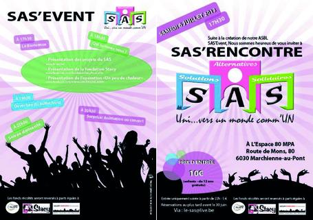 SAS' Rencontre : présentation SAS, Fondation Stacy, et Opération un peu de chaleur. | CharlyKing NEWS OccupyCharleroi | Scoop.it