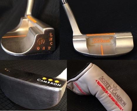 Scotty Cameron inspired by Sergio Garcia | Matériel de Golf | Scoop.it