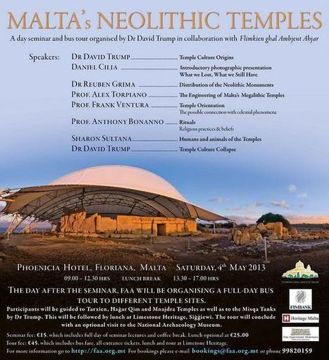 MALTE : FAA 2-day seminar and tour of Malta's Neolithic Temples | World Neolithic | Scoop.it