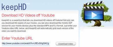 Descargar Videos de Alta Definición de YouTube | Aplicaciones y Herramientas . Software de Diseño | Scoop.it