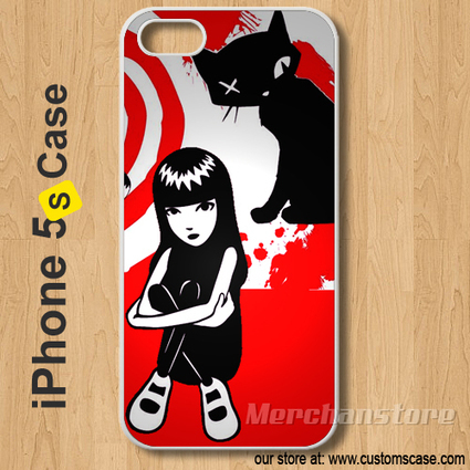 Emily The Strange Custom iPhone 5s Case Cover | Merchanstore - Accessories on ArtFire | Custom iPhone 5s Case Cover | Scoop.it
