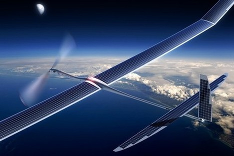 Google buys drone maker Titan Aerospace, which Facebook sought to buy. | Global Logistics Trends and News | Scoop.it