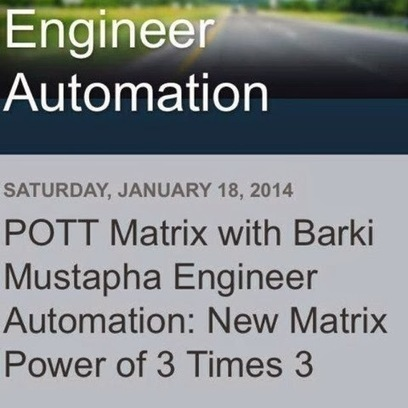 POTT Matrix with Barki Mustapha Engineer Automation: Ninja Networking | Me&Ubuntu | Scoop.it