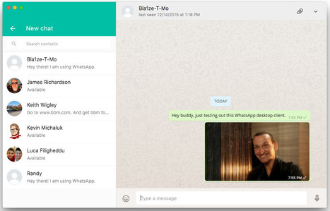 WhatsApp introduces new desktop app for Windows and Mac | Insight Business Technologies | Scoop.it