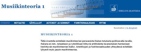 Musiikin teoria 1 | Musiikinopetus | Scoop.it