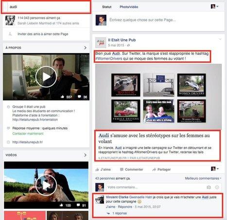 Pages Facebook : enfin une barre de recherche   Social Media Curation par Mon-Habitat-Web.com   Scoop.it