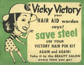 Vicky Victory Hair Pins | Antiques & Vintage Collectibles | Scoop.it