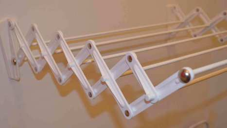 Wall Mounted Cloth Drying Hangers | Cloth Drying Hangers | Scoop.it