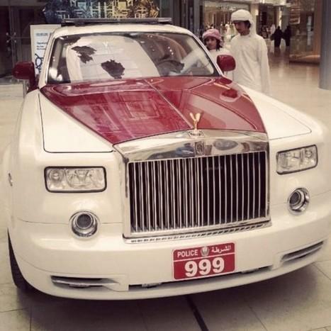 Rolls Royce Phantom joins Abu Dhabi police fleet | Green Prophet | Arabian Peninsula | Scoop.it