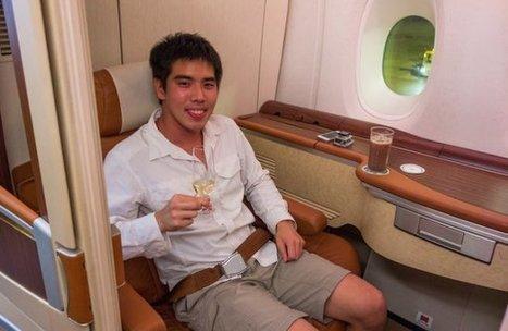 Un vol première classe chez Singapore Airlines, ça donne quoi ? - Buzger   Accessoires salle de bains   Scoop.it