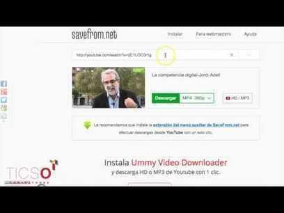 Cómo descargar videos desde Youtube con dos clicks | TAC i educació | Scoop.it