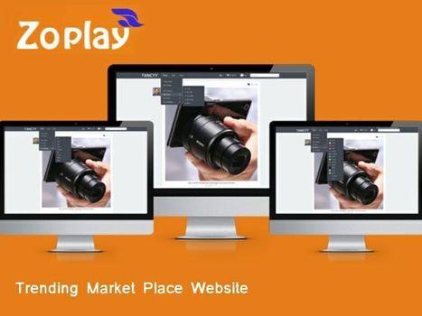 Trending Market Place Websit | Webdesign Templates | Scoop.it