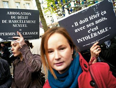 """Clarisse Feletin : """"Il y a déni social et juridique à propos du harcèlement sexuel""""   A Voice of Our Own   Scoop.it"""