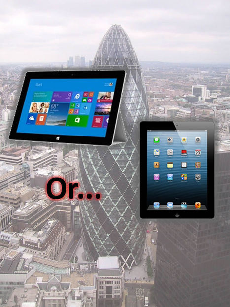 Is productivity in the workplace possible with Surface 2 or iPad?   ZDNet   ipad@work   Scoop.it