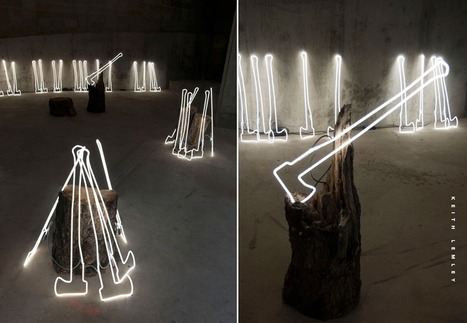 The Woods by Keith Lemley | Art Installations, Sculpture, Contemporary Art | Scoop.it