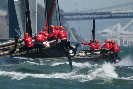 45: RED BULL YOUTH AMERICA,S CUP NEWS: Swedish youth sailors visit Artemis Racing | #AC34 | Scoop.it