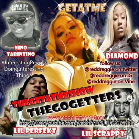 """Check out TheGetAtMeShow this weeks ft Diamond performing """"TeamPretty Bitches"""" #GetAtMe 