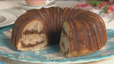 Banana Chocolate Swirl Cake - WLTX.com | Food | Scoop.it