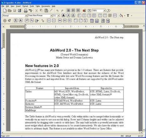 Les alternatives gratuites à Microsoft Word   Mes ressources personnelles   Scoop.it