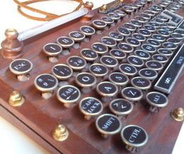 My Steampunk Keyboard version | Open Source Hardware News | Scoop.it