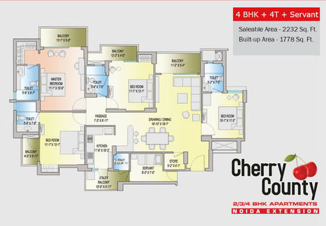 Cherry County   Price List, Resale, Reviews   Noida Extension   Real Estate   Scoop.it