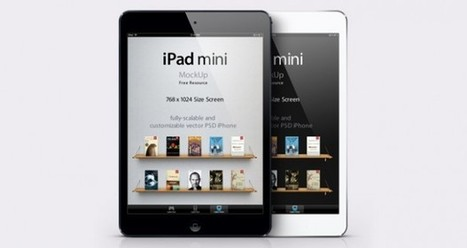 MockUp de un iPad mini vectorial en descarga libre | Recursos | Scoop.it