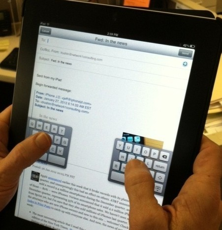 Secrets How to Use iPad Keyboard: Useful Tips and Tricks | An Eye on New Media | Scoop.it