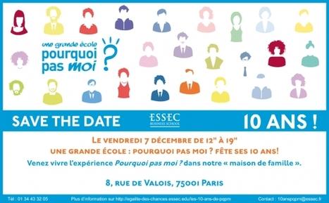 « Une Grande école ? Pourquoi pas moi »? fête ses 10 ans (volet 1) / France Inter | L'enseignement dans tous ses états. | Scoop.it
