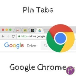 Pin Tab: Google Classroom, Email, Gradebook, Drive - Teacher Tech | Keeping up with Ed Tech | Scoop.it