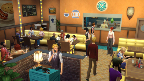 7raisons de se réjouir de la sortie du pack de jeu LesSims4Au Restaurant << Site officiel | Les Sims | Scoop.it