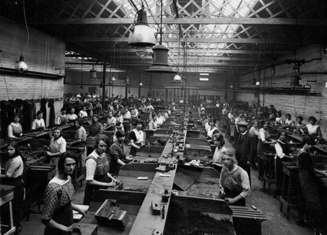 On the production line in the 20s and 30s: Forgotten photographs chart the progress of industry at castings company in Derby | Everything and nothing to do with The digital world | Scoop.it