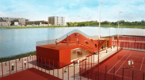 MVRDV receive permission for the couch clubhouse at IJburg | Inspired By Design | Scoop.it