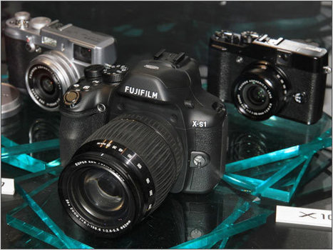 Fujifilm unveils X-S1 high-end superzoom and confirms Mirrorless intentions | Photography Gear News | Scoop.it