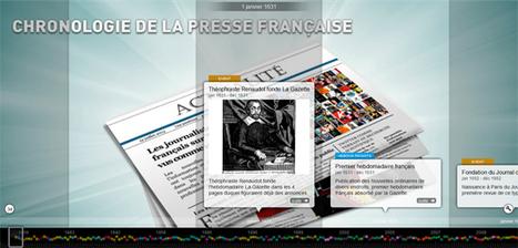 Chronologie de la presse française depuis 1631 par @InaGlobal | Remue-méninges FLE | Scoop.it