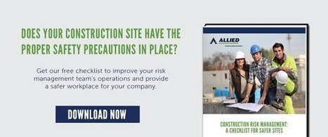 Stop Worrying with the Top 3 Springtime Weather Worksite Safety Tips | Allied_Insurance Links | Scoop.it