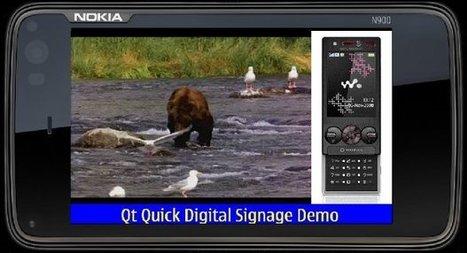 Qt Quick QML Digital Signage Demo Part 1 | Digital signage using Raspberry pi and qt | Scoop.it