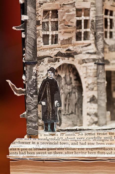 Edinburgh's Mysterious Book Sculptures | Artistes et Créateurs | Scoop.it