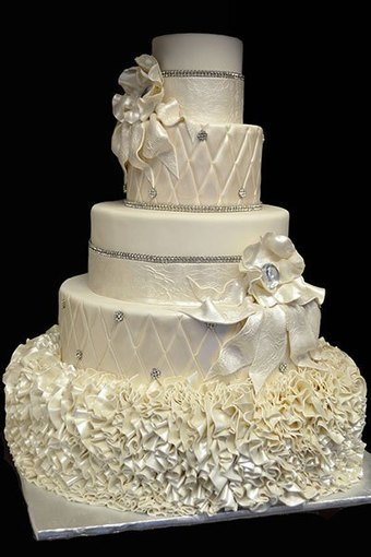 10 Beautiful and Eye-Catching Wedding Cakes | Wedding Catering | Scoop.it