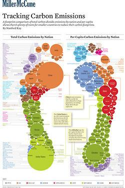 Tu HUELLA de carbono en el planeta - infografía | Le BONHEUR comme indice d'épanouissement social et économique. | Scoop.it