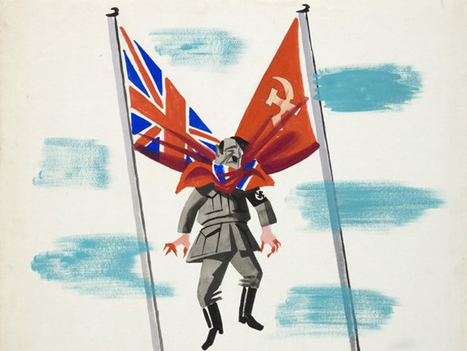 19 Incredible British Propaganda Posters From World War Two | Wahl World History | Scoop.it
