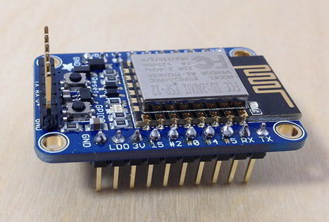 Setting Up the Adafruit Huzzah ESP8266 Breakout - DZone IoT | Arduino, Netduino, Rasperry Pi! | Scoop.it